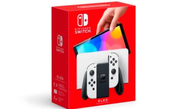 Nintendo Switch OLED llega a México