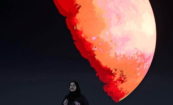 Misión emiratí revela altas concentraciones de oxígeno en atmósfera de Marte