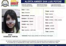 Activan alerta Amber para localizar a menor de edad