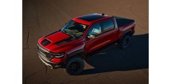 Ram 1500 TRX: una pick up de producción masiva rápida y poderosa