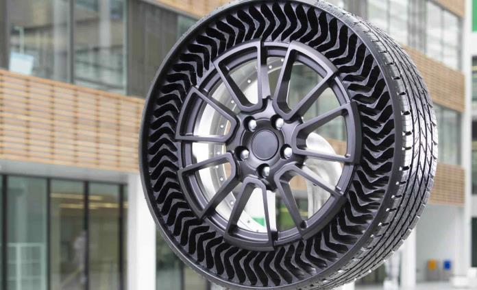 El neumático que no se poncha, al mercado para 2024