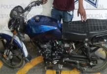 Aseguran cuatro motocicletas robadas; hay cuatro detenidos