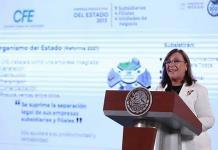 Con reforma eléctrica, México cumplirá compromisos internacionales: Rocío Nahle