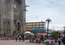 La Plaza Juárez, convertida en zoco