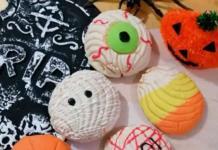 Crean conchas temáticas de Día de muertos y Halloween