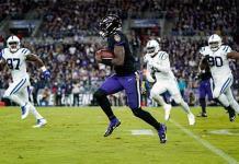 Ravens vence en épica remontada a los Colts