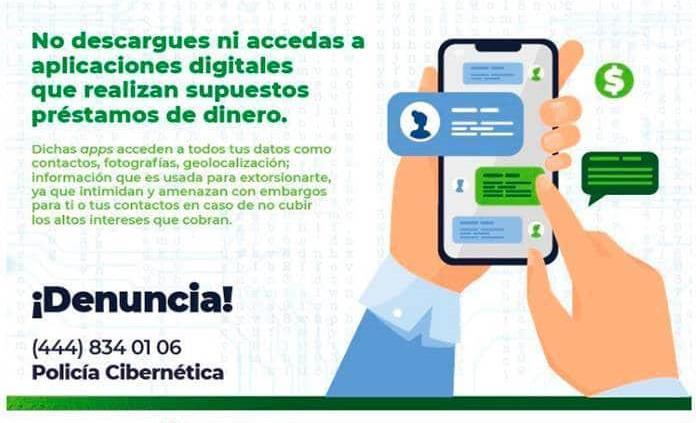 Alerta SSPE por más de 20 apps fraudulentas que ofrecen préstamos de dinero
