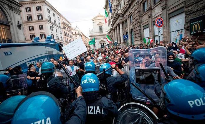 La COVID-19 y el fantasma del fascismo en Italia