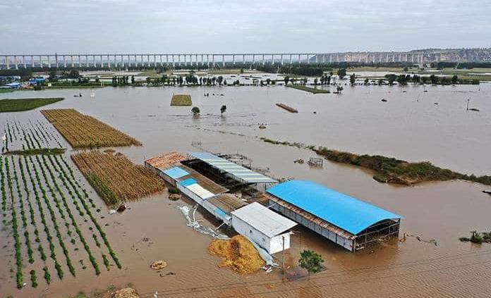 Mortales crecidas de ríos registran en China