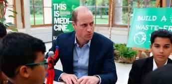 Antes de ir al espacio, salven el planeta, pide el príncipe Guillermo