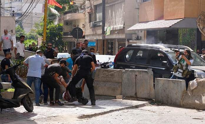 Ataque de francotiradores deja al menos seis muertos en Beirut