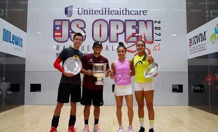 Arrasa México en US Open de Racquetbol