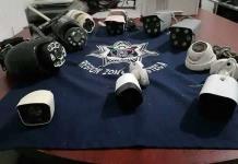 Incautan más cámaras usadas por célula delictiva