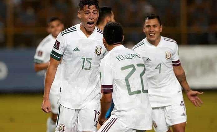 México gana en El Salvador