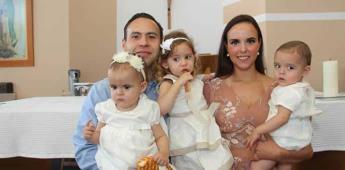 FERNANDA Y ALEJANDRO RECIBEN EL BAUTISMO