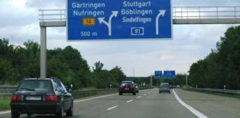 Alemania debate eliminar las autopistas sin límite de velocidad