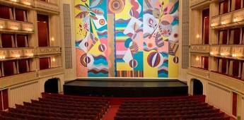 La artista brasileña Beatriz Milhazes inunda de color la Ópera de Viena
