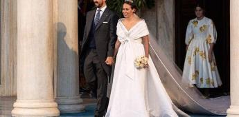 Atenas acoge su primera boda real en más de medio siglo