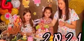 Las niñas del pastel, a un año de su video viral, celebran juntas
